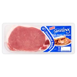 Direct Table Danish Sizzling 10 Unsmoked Back Bacon Rashers 300g