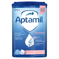 Aptamil Hungry Baby Milk Formula From Birth 800g