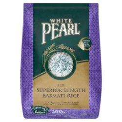 White Pearl 1121 Superior Length Basmati Rice 20kg