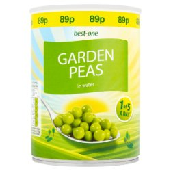 Best-One Garden Peas in Water 560g