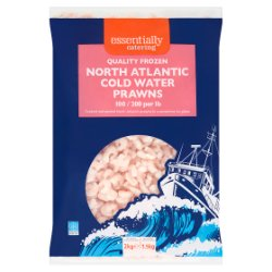 Essentially Catering North Atlantic Cold Water Prawns 2kg