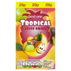 Best-One Tropical Juice Drink 250ml