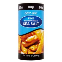 Best-One Fine Mediterranean Sea Salt 350g