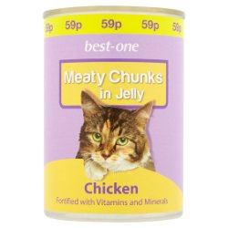 Best-One Meaty Chunks in Jelly Chicken 400g
