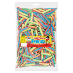 Buddies Assorted Mini Pencils Fruit Flavour Sweets 1.5kg