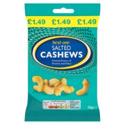 Best-One Salted Cashews 70g