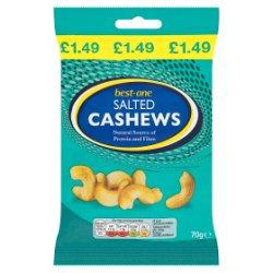 Best-One Salted Cashews 70g
