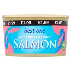 Best-One Wild Pacific Pink Salmon 213g