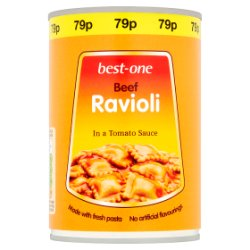 Best-One Beef Ravioli in a Tomato Sauce 400g