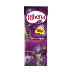 Ribena Blackcurrant 250ml 50p PMP