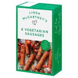 Linda McCartney's 6 Vegetarian Sausages 270g
