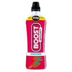 Boost Sport Mixed Berry 500ml