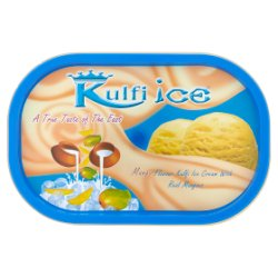 Kulfi Ice Mango Flavour Kulfi Ice Cream with Real Mangoes 1 Litre