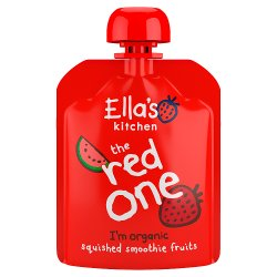 Ella's Kitchen The Red One Squished Smoothie Fruits 90g