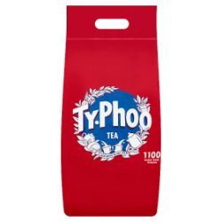 Typhoo 1100 Tea Single Serve Teabags 2.5kg