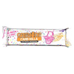Grenade Carb Killa High Protein, Low Sugar Bar Birthday Cake 60g