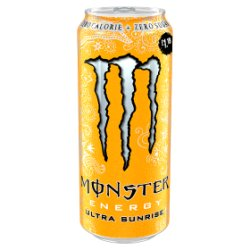 Monster Ultra Sunrise 500ml PMP £1.19