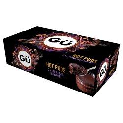Gü Hot Chocolate Brownie Desserts 2 x 78g