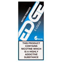 Edge British Tobacco E-Liquid 6mg/ml 10ml