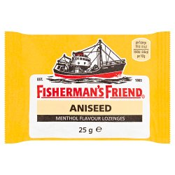 Fisherman's Friend Aniseed Menthol Flavour Lozenges 25g