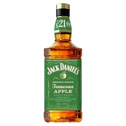 Jack Daniel's Tennessee Whiskey Blended with Apple Liqueur 70cl PMP