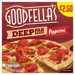 Goodfella's Deep Pan Baked Pepperoni 415g