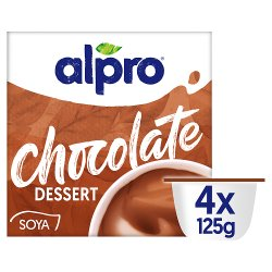 Alpro Smooth Chocolate Dessert 4x125g