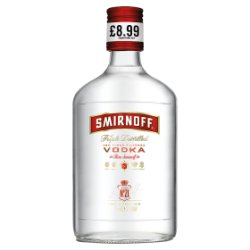 Smirnoff Red Label Vodka 35cl PMP £8.99