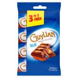 Guylian Belgian Chocolate Milk 4 x 30g
