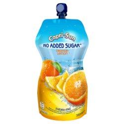 Capri-Sun No Added Sugar Orange and Lemon 330ml PMP 95p
