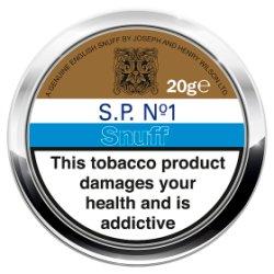 J & H Wilson Ltd S.P. No. 1 Snuff 20g