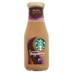 Starbucks Fairtrade Frappuccino Coffee Drink Mocha 250ml