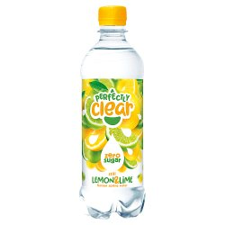 Perfectly Clear Still Lemon & Lime Flavour Spring Water 500ml