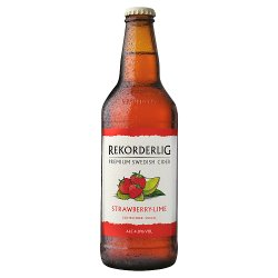 Rekorderlig Premium Swedish Strawberry-Lime Cider 500ml