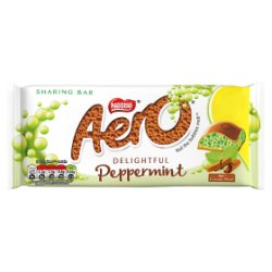 Nestlé® Aero® Peppermint Mint Chocolate Sharing Bar 100g £1