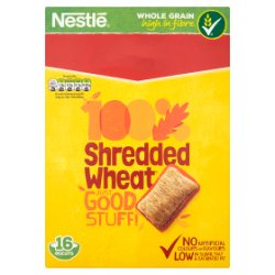 NESTLE SHREDDED WHEAT Cereal 16s Box PMP