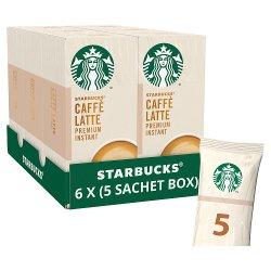 Starbucks Latte Premium Instant Coffee 5 x 14g Sachets