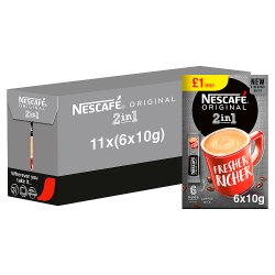 NESCAFÉ Original 2 in 1 6 x 10g (60g)