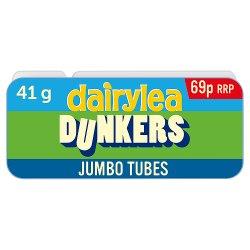 Dairylea Dunkers Jumbo Tubes Cheese Snack 69p 41g