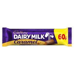 Cadbury Dairy Milk Caramel 60p Chocolate Bar 45g