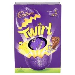 Cadbury Twirl Large Easter Egg 282g