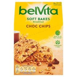 Belvita Breakfast Biscuits Soft Bakes Choc Chips 250g