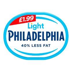 Philadelphia Light Soft Cheese £1.99 180g