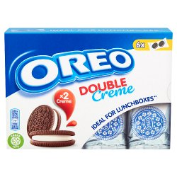Oreo Double Creme Chocolate Sandwich Biscuit 170g