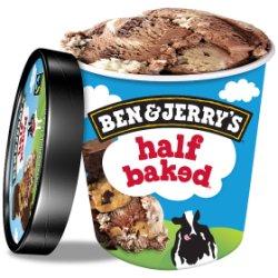 Ben & Jerry's Classic Half Baked Ice Cream 500ml
