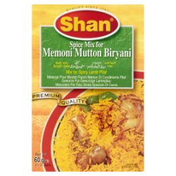 Shan Spice Mix for Memoni Mutton Biryani 60g