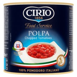 Cirio Polpa Chopped Tomatoes 2500g