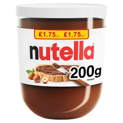 Nutella Hazelnut Spread with Cocoa 200g
