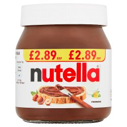 Nutella Hazelnut Chocolate Spread PMP Jar 350g