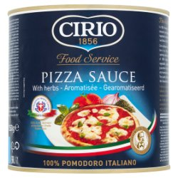 Cirio Food Service Pizza Sauce with Herbs 2550g
